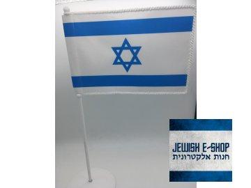 Stolní vlaječka IZRAEL 11*15 cm