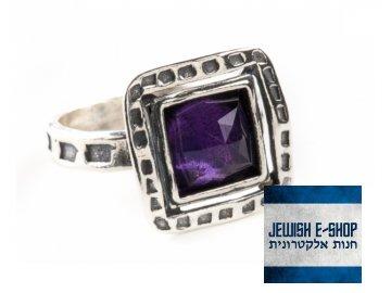 prsten izrael ametyst