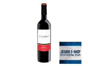 TISHBI MERLOT 2019 - LUXUSNÍ KOSHER VÍNO Z IZRAELE