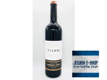 TISHBI CABERNET SYRAH 2016 - LUXUSNÍ KOSHER VÍNO Z IZRAELE