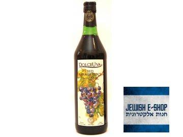 """Vinný mošt z červených hroznů """"DolceUva"""" 1000ml - 100% kosher"""