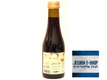 Kidušové červené vino Yashan Noshan 187ml - Made in Israel