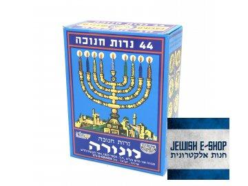 Chanukové svíčky 44 ks