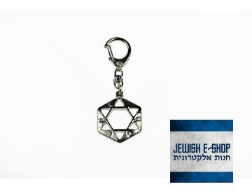 Klíčenka - pentagram