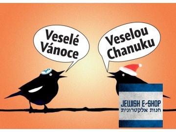 Veselá Chanuka i Vánoce