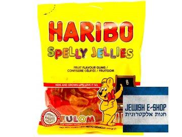 Kosher Haribo Spelly Jellies - ovocné bonbóny 150g