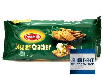Kosher sezamové krekry 250g - 100% kosher a parve