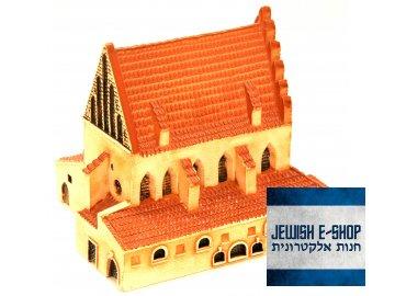 Staronová synagoga - ručně vyráběný model
