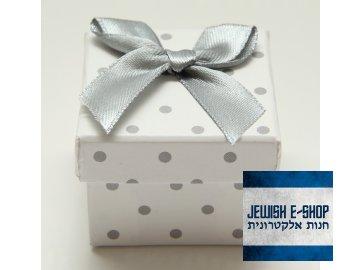 Papírová krabička s mašlí