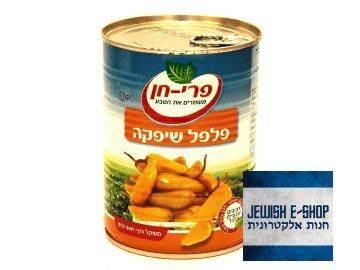 Kosher pálivé chilli papričky z Izraele, 540 gr
