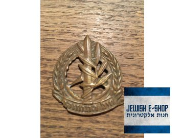 Odznáček - ISRAEL ARMY ZAHAL - IDF  - rarita IX