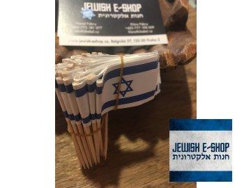 Napichovátka vlajka IZRAEL 50 ks