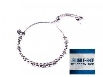 Izraelský stříbrný náramek Ag 925/1000
