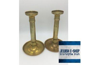 Židovské Šábesové - Šabatové svícny - 17 cm - Biedermeier
