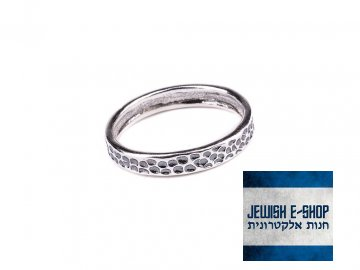Izraelský stříbrný prsten Ag 925/1000