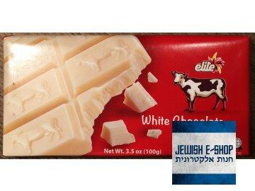 Kosher bílá čokoláda Elite