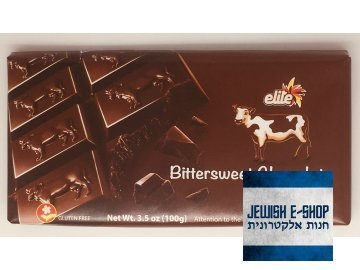 Kosher čokoláda Elite - bittersweet