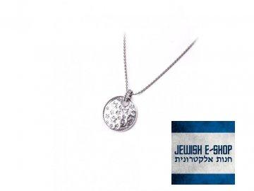 Izraelský stříbrný náhrdelník s kytičkami Ag 925