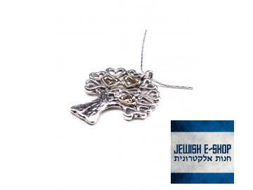 Stříbrný náhrdelník se stromem života