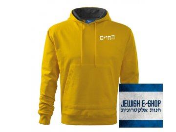 Mikina Chaim - Yellow