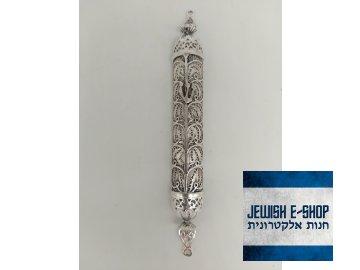 Dokonalá stříbrná mezuza z Izrael 925/1000