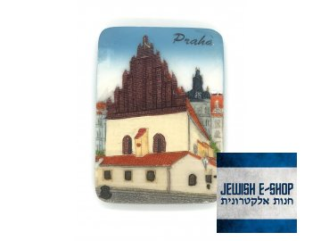 Magnet Staronová synagoga - barevná
