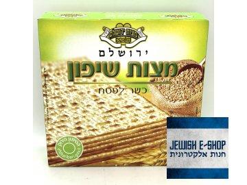 Macesy košer na Pesach - Jerusalem Matzos - 300g