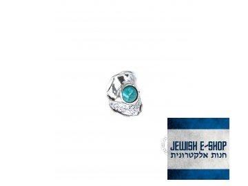 Stříbrný prsten s tyrkysem - Velikost 8