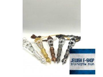 Swarovski crystal - Ukazovátko, velké, řetízek s adjustou