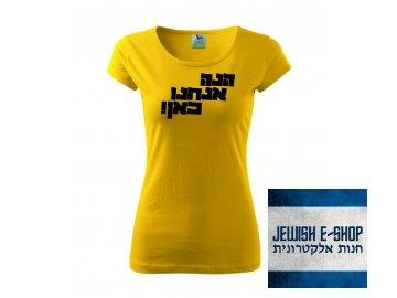 Tričko dámské - Hinneh