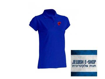 Dámská polokošile - Beruška - ROYAL BLUE