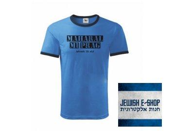 Tričko - Maharal - BLUE