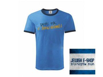 Tričko - Příští rok v Jeruzalémě  BLUE