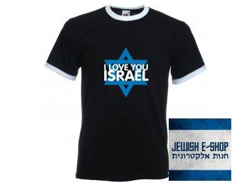 Tričko - I LOVE YOU ISRAEL