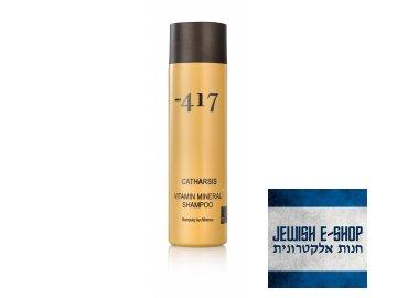 Šampon s vitaminy a minerály Minus 417  400 ml