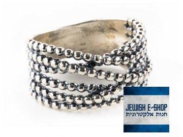 Stříbrný masivní prsten z Izraele Ag 925/1000
