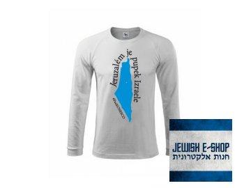 Tričko - #FuckUNESCO - mapa Izraele