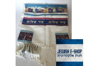 Tallit - Talit - JEWISHOP design from JERUSALÉM! 100% KOSHER!