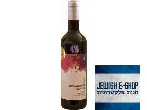 Rulandské modré výběr z hroznů košer 2011 - Salon vín ČR 2013