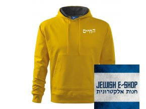 Mikina Chaim - Yellow