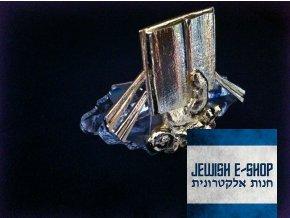 Swarovski - Božská ruka s knihou, crystal