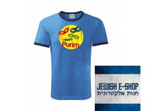 Tričko - PURIM maska - Blue