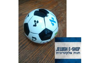 Židovská keramická pokladnička pro děti jako fotbalový míč