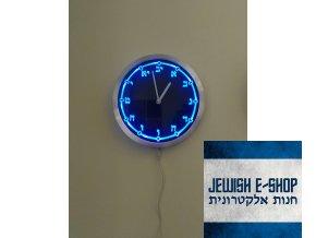 Hebrejské hodiny - svítící ciferník