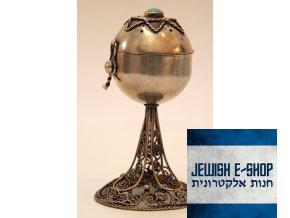 Židovská kořenka s Davidovou hvězdou a Tyrkysem