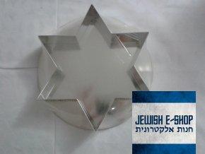 Forma na dort ve tvaru Davidovy hvězdy -  Šavuot