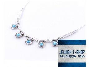 Náhrdelník s opály made in Israel