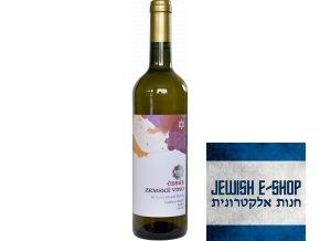 Rulandské šedé české zemské víno Cuvée ročníků košer suché Top 77