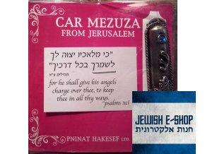 Mezuza do auta - FROM JERUSALEM!