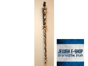 JAD - stříbrné ukazovátko na Tóru BIG dokonalé 32 cm dlouhé